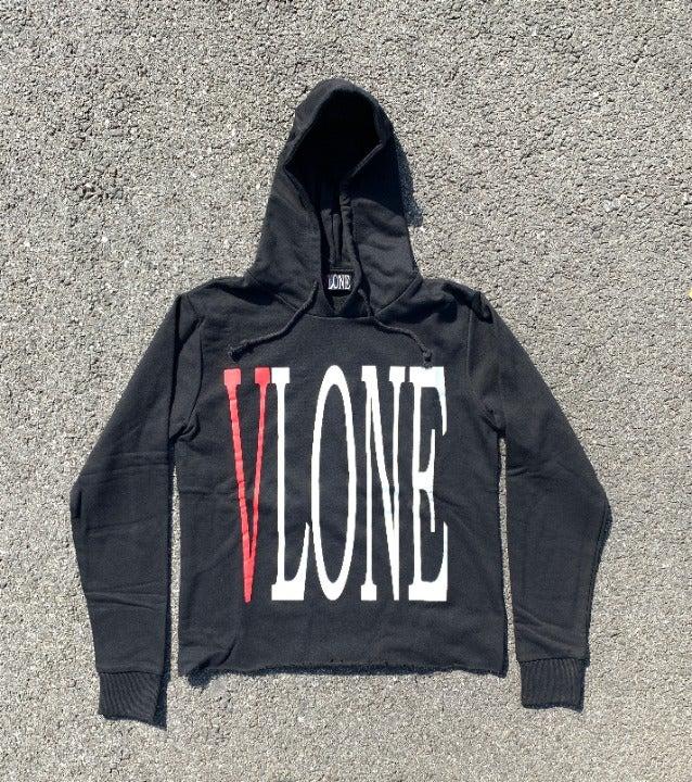 Vlone Reversible Red on Black Sweatshirt