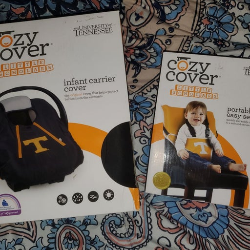 Cozy Cover infant carrier cover & portab