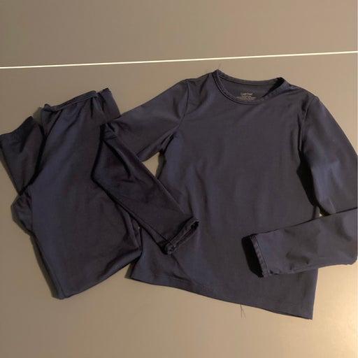 Cuddl Duds girls base layer pants shirt