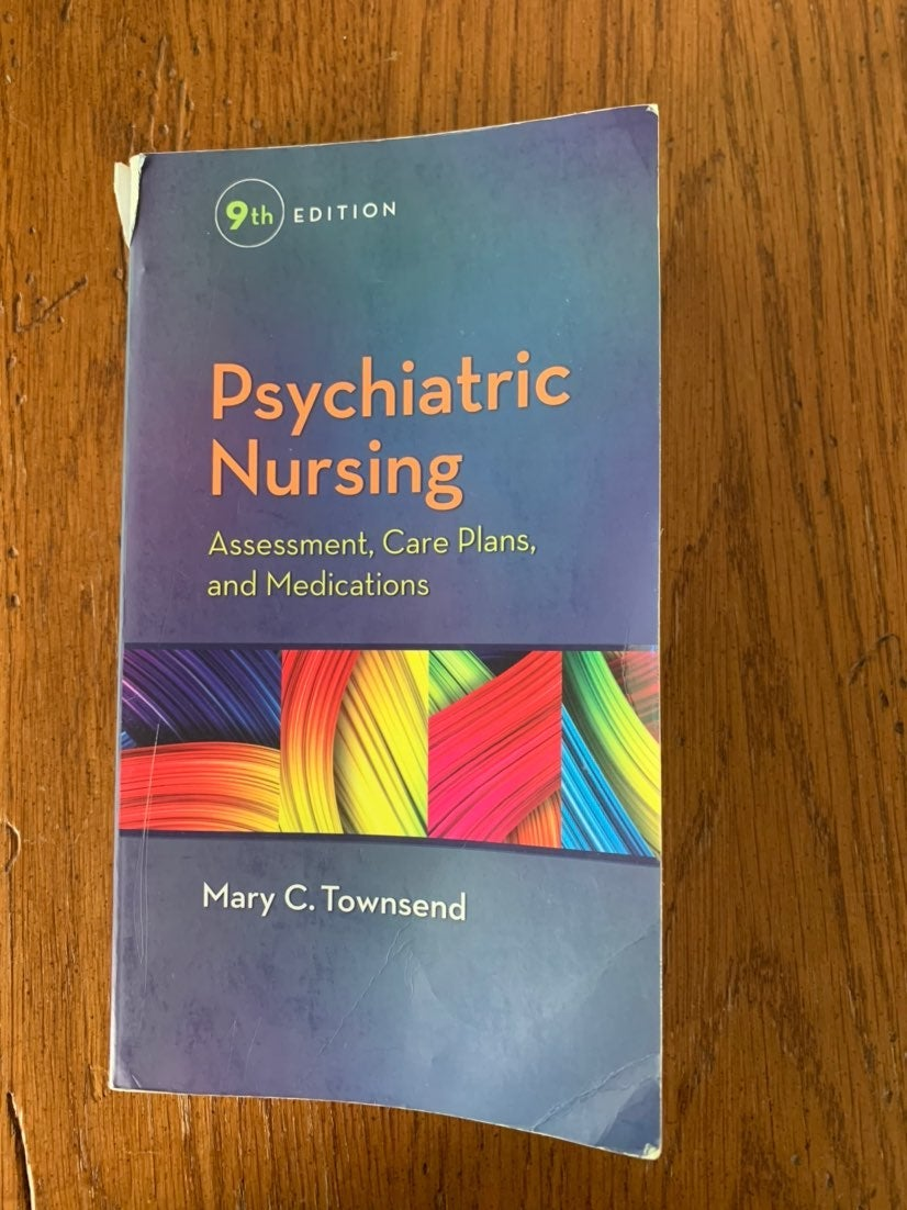 Psychiatric nursing textbook and book of