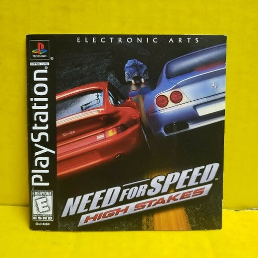 Need for Speed High Stakes Video Game (Playstation - Sony Playstation)