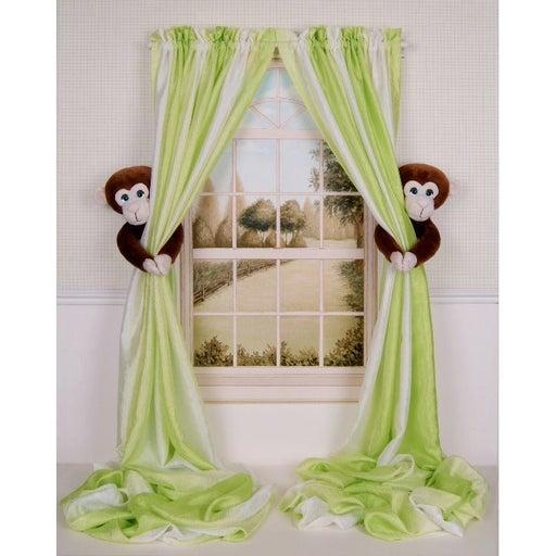 Monkey Nursery Curtain Tieback Holders-2