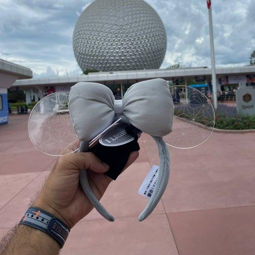 Spaceship Earth Light-Up Minnie Ears