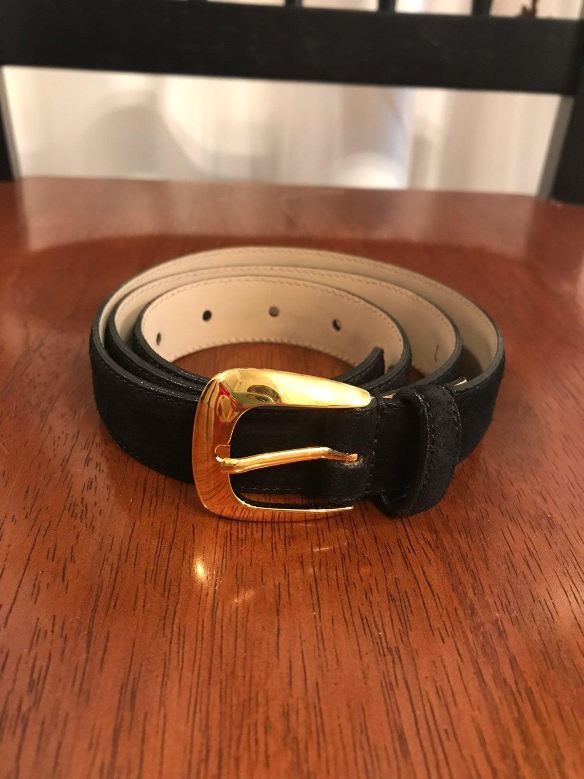 Talbots Women's suede belt