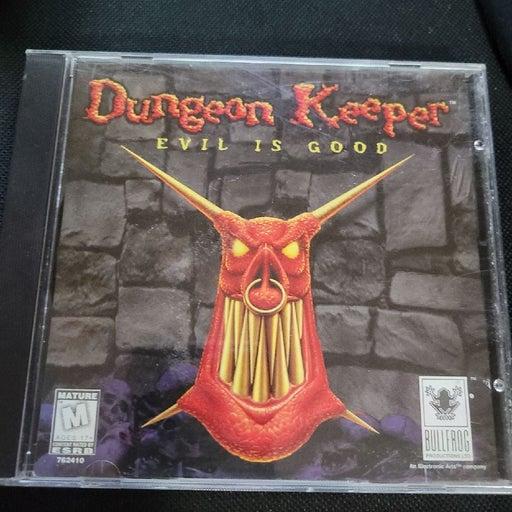 Dungeon Keeper PC Game 1997 Bullfrog CD-