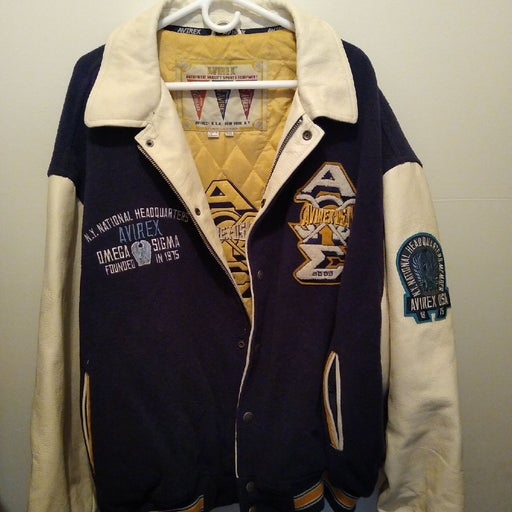Avirex letterman style jacket