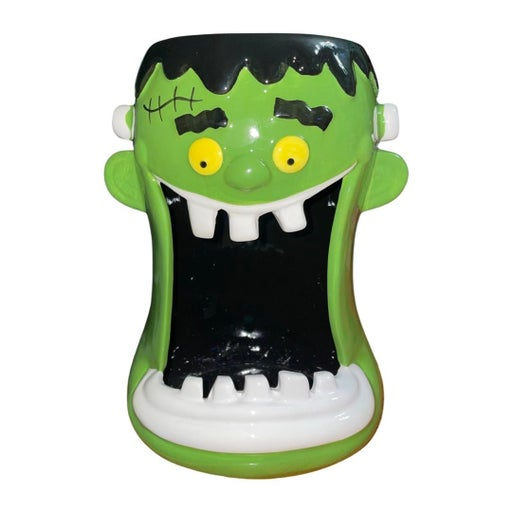 Halloween Frankenstein candy dish