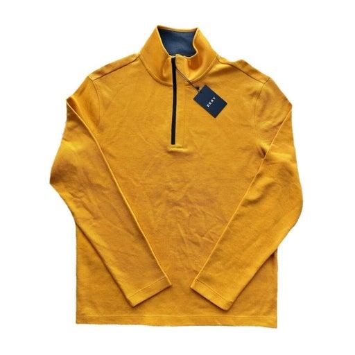 DKNY Men's S 1/4 Zip Pullover Long Sleev