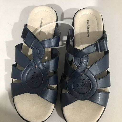 Croft&Barrow Navy Blue Slippers