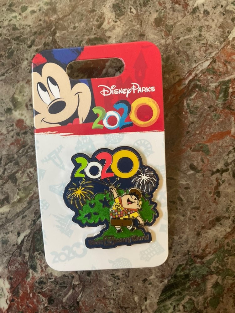 Disney parks up russell 2020 pin