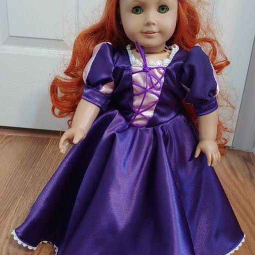 American Girl Doll Red Hair green eyes