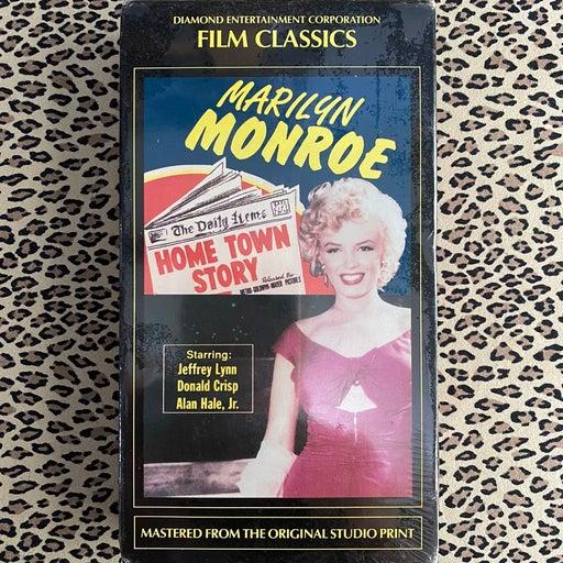 Home Town Story VHS NEW! SEALED! Marilyn Monroe Film Classics