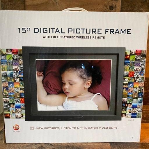 CTA 15 inch Digital Picture Photo Frame