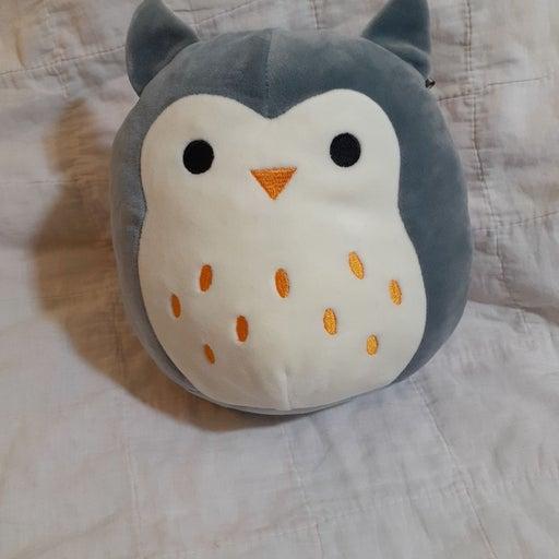"8"" Squishmallow Grey Owl"