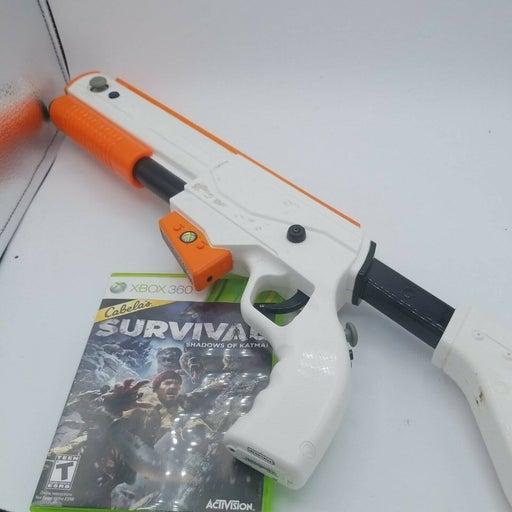 Cabelas Survival: Shadows of Katmai - Xbox 360 with gun preowned