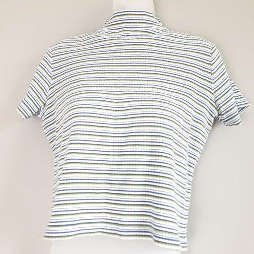 Short sleeve T-Shirt High Collar
