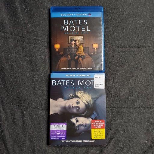 Bates Motel Season 1 & 2 Blu-Rays