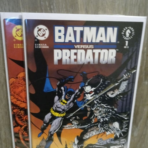 BATMAN VS PREDATOR #1 & 2