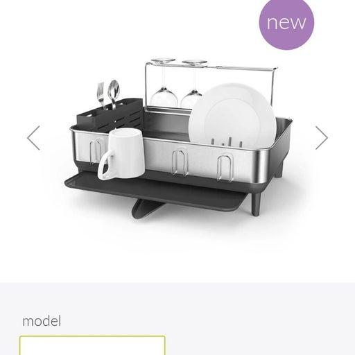 simplehuman Steel Frame Kitchen Drying S