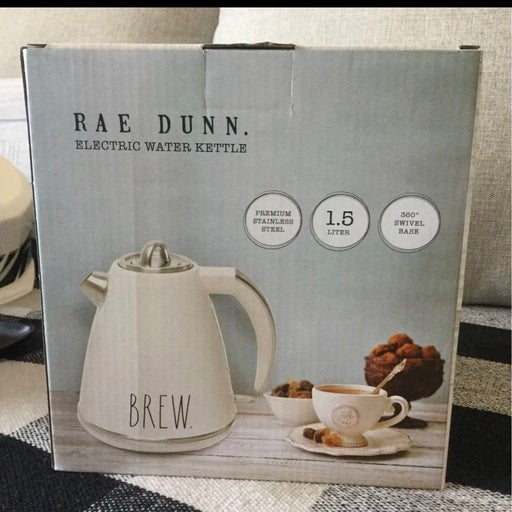 Rae Dunn Electric Water Kettle