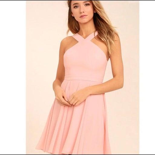 Lulu's Pink Dress
