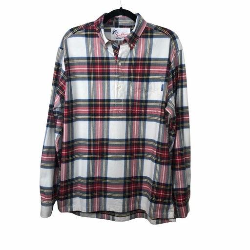 Chubbies Plaid 1/4 Button LS Shirt