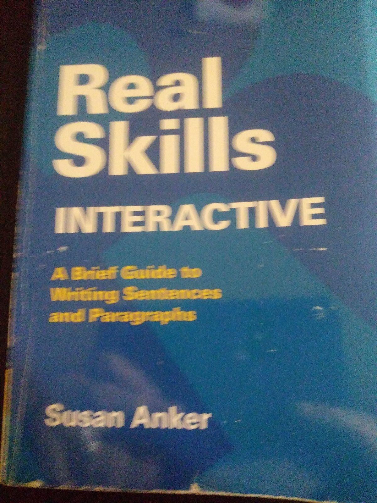 real skills book interactive by Susan An