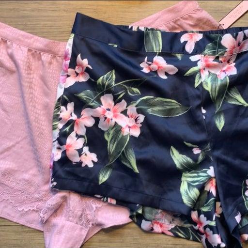 Victoria's Secret Satin Shorts Size L