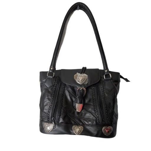 Womens Fashion Patchwork Leather Soft Sn