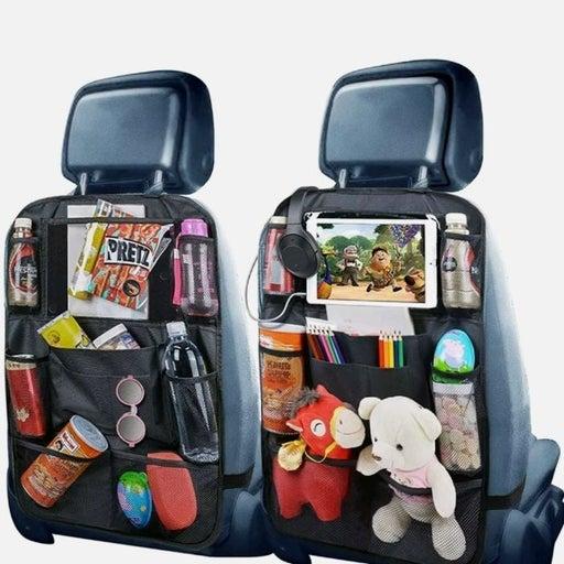 Set2 Car Seat Back Black Organizer