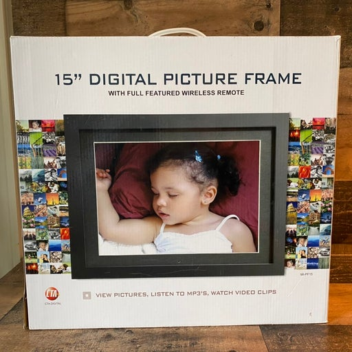Large 15 inch Digital Photo Frame
