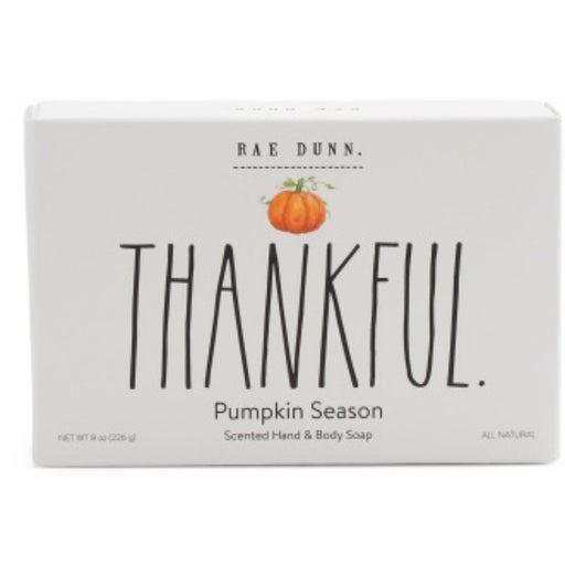 Rae Dunn Thankful Pumpkin Season Bar Soap