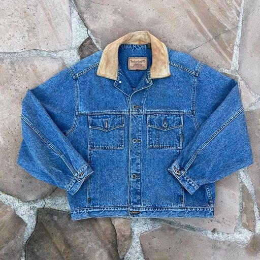 Vintage 90s timberland denim jacket