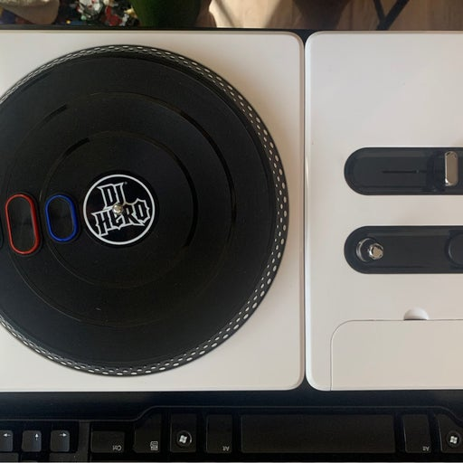 DJ Hero Turntable ONLY for Sony PlayStation 3 PS3 - No Game/Dongle