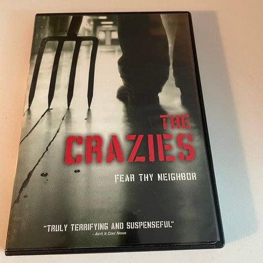 THE CRAZIES DVD Joe Anderson HORROR R