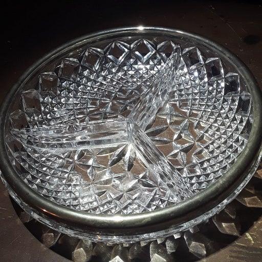 Crystal ash tray slight chip