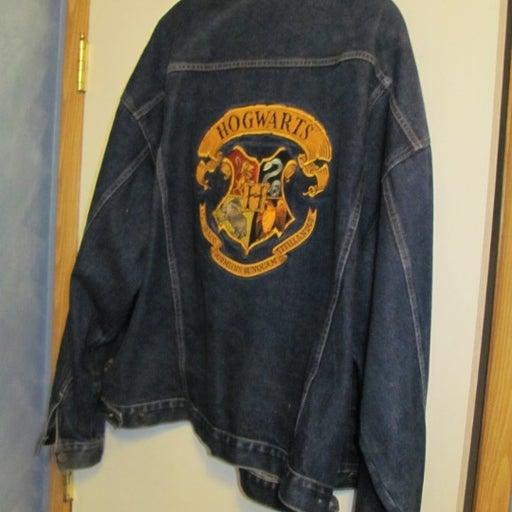 Men's Hogwarts Denim Jacket