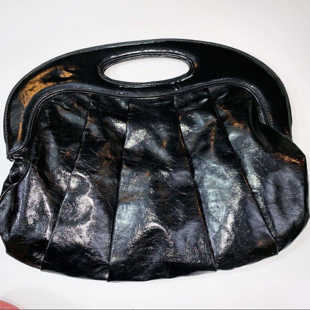 NWT Express Black Handbag Clutch