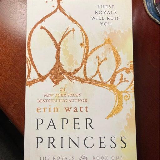 2 Paperback Books Paper Princess & Broken Prince