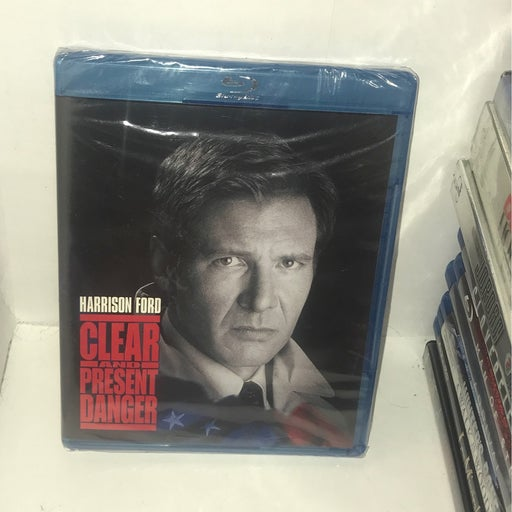 Clear And Present Danger Blu Ray - Brand New - Sealed