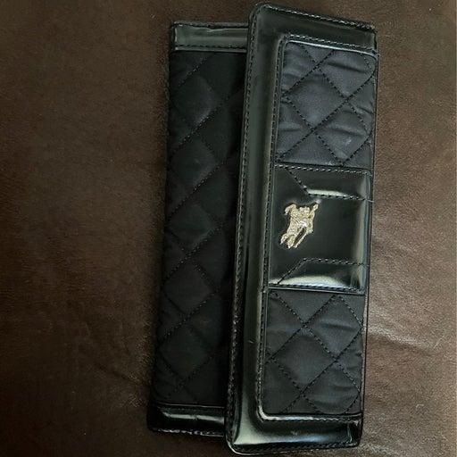 Burberry black wallet for women