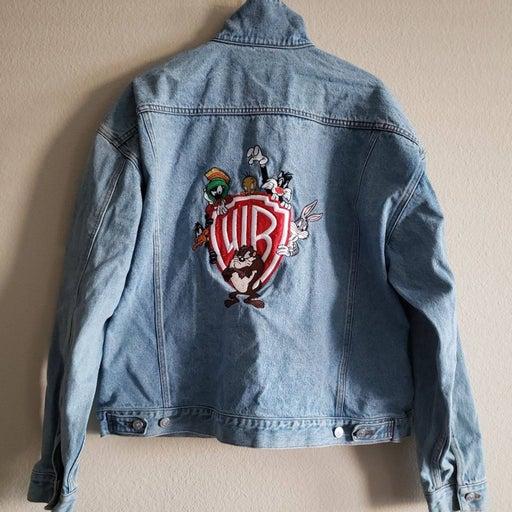 Vintage Warner Bros Jean Jacket 2XL