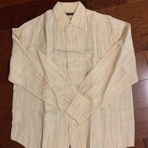 Cubavera Men's Long Sleeve Casual Shirt
