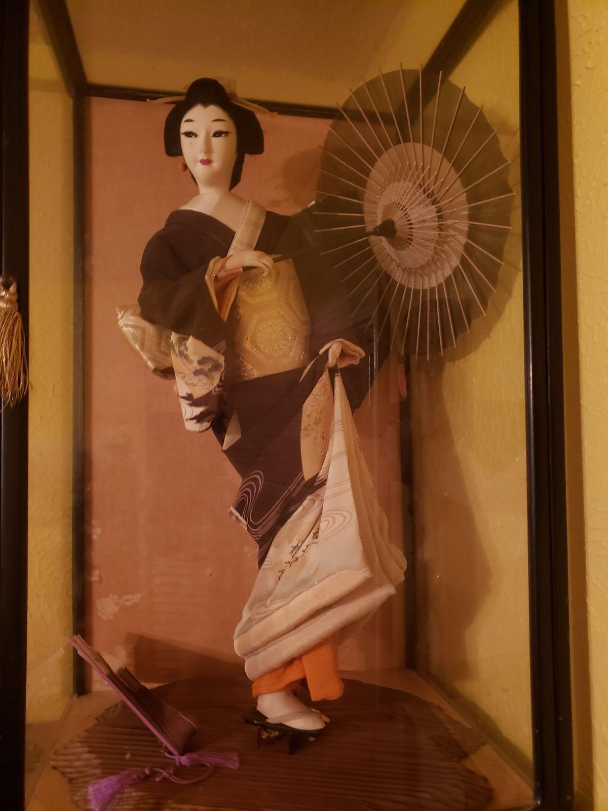 Japanese geshia doll