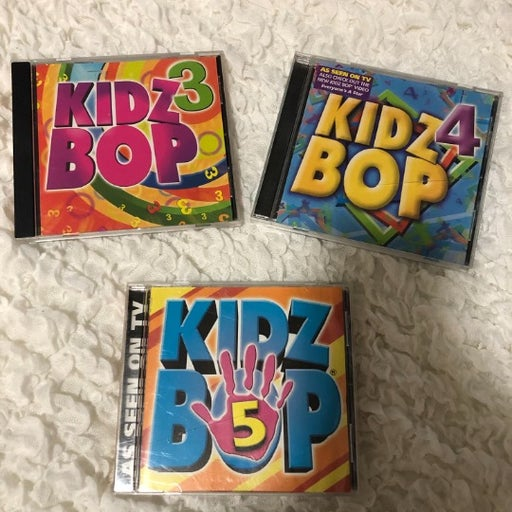 Set of 3 KIDZ BOP CD SET
