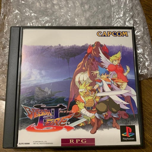 Breath of Fire III PS1 Japanese Import