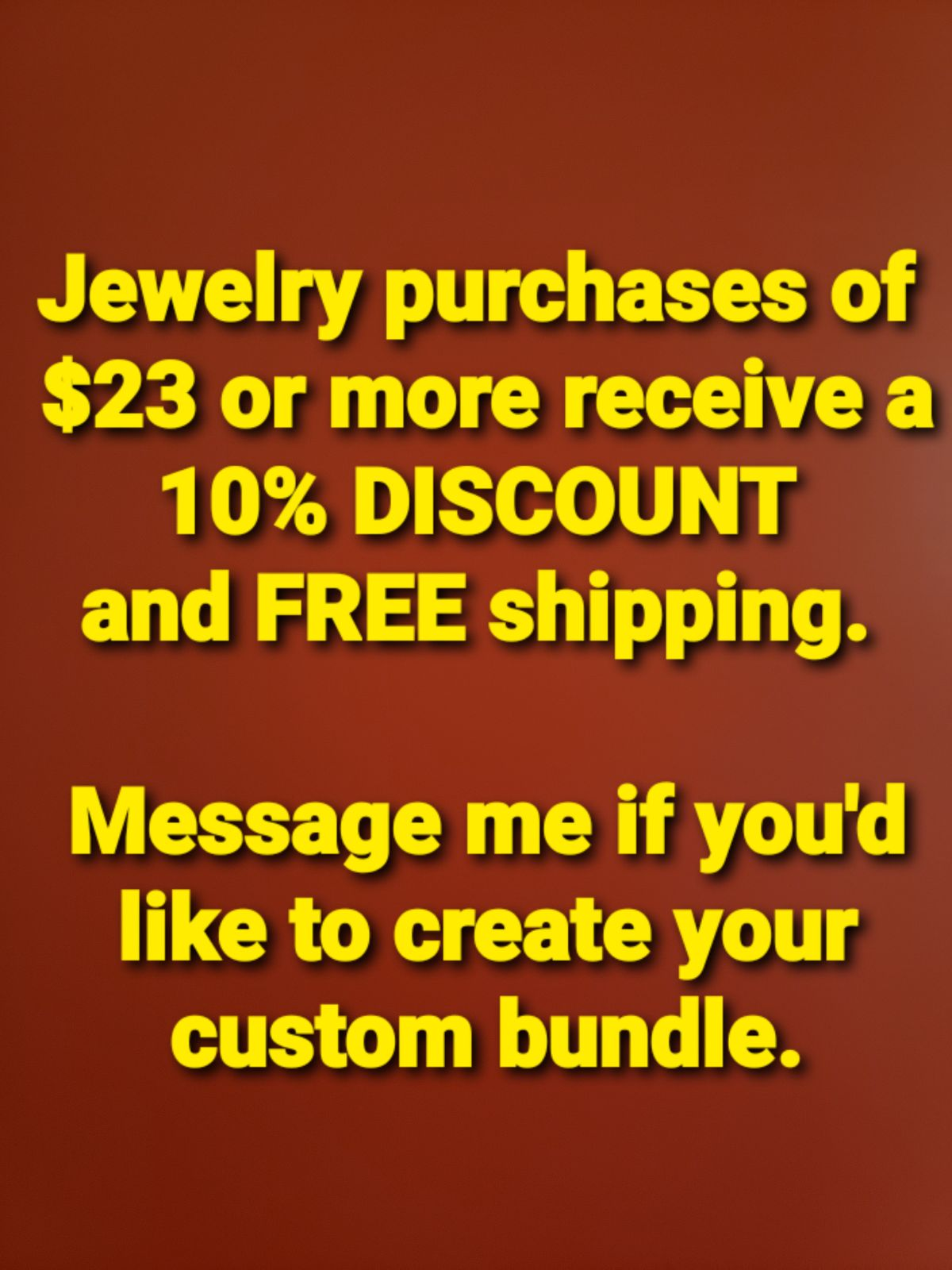 JEWELRY - Bundle and Save!