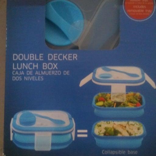 A Double Decker Lunch box