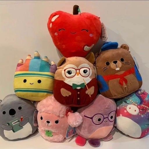 Squishmallow back to school gang