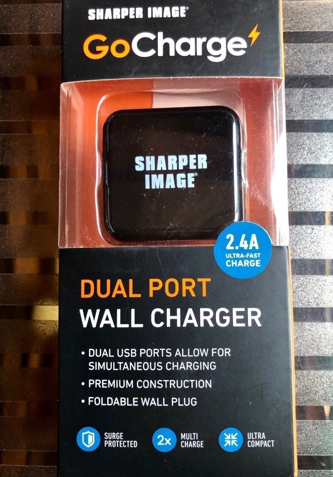GoCharge Dual Port Wall Charger NWOT